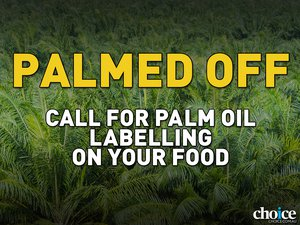 image of Support palm oil labelling on food products